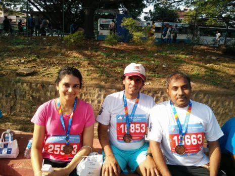 Dr.Kalpana, Vadiraj and J.Ramakrishna