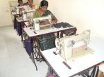 Tailoring machine donated by Mr. C.S.Ramachar